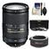 Nikon 18-300mm f/3.5-5.6G VR DX ED AF-S Nikkor-Zoom Lens with 3 (UV/ND8/CPL) Filters + Teleconverter + Accessory Kit