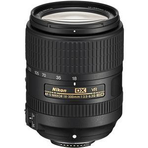 Nikon 18-300mm f-3.5-6.3G VR DX ED AF-S Nikkor-Zoom Lens