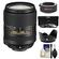 Nikon 18-300mm f/3.5-6.3G VR DX ED AF-S Nikkor-Zoom Lens with 2x Teleconverter + 3 UV/CPL/ND8 Filters + Hood + Accessory Kit