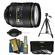 Nikon 24-120mm f/4 G VR AF-S ED Zoom-Nikkor Lens with 3-Piece Filter Set + Tripod + Accessory Kit