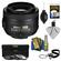 Nikon 35mm f/1.8 G DX AF-S Nikkor Lens with 3 UV/CPL/ND8 Filters + Cleaning Kit