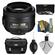Nikon 35mm f/1.8 G DX AF-S Nikkor Lens with Nikon Case + 3 UV/CPL/ND8 Filters + Cleaning Kit