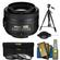 Nikon 35mm f/1.8 G DX AF-S Nikkor Lens with Tripod + 3 UV/CPL/ND8 Filters + Cleaning Kit