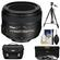 Nikon 50mm f/1.4G AF-S Nikkor Lens with Nikon Case + 3 UV/CPL/ND8 Filters + Tripod + Cleaning Kit