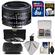 Nikon 50mm f/1.8D AF Nikkor Lens with 8GB SD Card + 3 UV/CPL/ND8 Filters + Hood + Cleaning Kit
