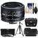 Nikon 50mm f/1.8D AF Nikkor Lens with Nikon Case + 3 UV/CPL/ND8 Filters + Hood + Tripod + Cleaning Kit
