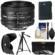 Nikon 50mm f/1.8D AF Nikkor Lens with EN-EL14 Battery + 3 UV/CPL/ND8 Filters + Hood + Tripod + Cleaning Kit