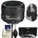 Nikon 50mm f/1.8G AF-S Nikkor Lens with Sling Backpack + 3 UV/CPL/ND8 Filters + Cleaning Kit