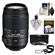 Nikon 55-300mm f/4.5-5.6G VR DX AF-S ED Zoom-Nikkor Lens - Factory Refurbished includes Full 1 Year Warranty + 3 (UV/CPL/ND8) Filters + Accessory Kit
