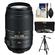 Nikon 55-300mm f/4.5-5.6G VR DX AF-S ED Zoom-Nikkor Lens - Factory Refurbished includes Full 1 Year Warranty + 3 (UV/CPL/ND8) Filters + Tripod + Accessory Kit