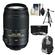 Nikon 55-300mm f/4.5-5.6G VR DX AF-S ED Zoom-Nikkor Lens - Factory Refurbished includes Full 1 Year Warranty + 3 (UV/CPL/ND8) Filters + Tripod + Backpack + Cleaning Kit
