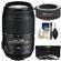 Nikon 55-300mm f/4.5-5.6G VR DX AF-S ED Zoom-Nikkor Lens with 2x Teleconverter + 3 UV/CPL/ND8 Filters + Cleaning Kit