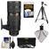 Nikon 70-200mm f/2.8G VR II AF-S ED-IF Zoom-Nikkor Lens with 3 UV/ND8/CPL Filters + Tripod + Accessory Kit