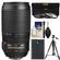 Nikon 70-300mm f/4.5-5.6 G VR AF-S ED-IF Zoom-Nikkor Lens with EN-EL14 Battery + 3 UV/ND8/CPL Filters + Tripod + Cleaning Kit