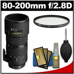 Nikon 80-200mm f/2.8D ED AF Zoom-Nikkor Lens with UV Filter & Accessory Kit