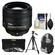 Nikon 85mm f/1.8G AF-S Nikkor Lens with 3 UV/CPL/ND8 Filters + Backpack Case + Tripod + Cleaning Kit