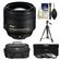 Nikon 85mm f/1.8G AF-S Nikkor Lens with 3 UV/CPL/ND8 Filters + Case + Tripod + Cleaning Kit
