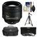 Nikon 85mm f/1.8G AF-S Nikkor Lens with 3 UV/CPL/ND8 Filters + Case + Tripod + Cleaning Kit