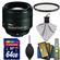 Nikon 85mm f/1.8G AF-S Nikkor Lens with UV Filter + 64GB SD Card + Kit