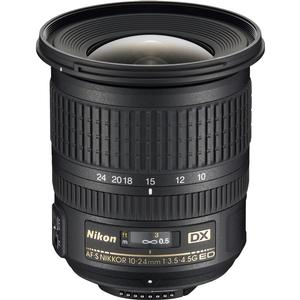 Nikon 10-24mm f-3.5-4.5 G DX AF-S ED Zoom-Nikkor Lens - Factory Refurbished includes Full 1 Year Warranty