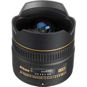 Nikon 10.5mm f-2.8G ED DX AF Fisheye-Nikkor Lens