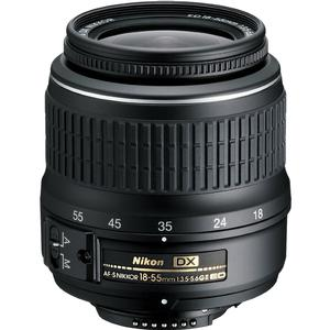 Nikon 18-55mm f-3.5-5.6G II DX AF-S ED Zoom-Nikkor Lens - Factory Refurbished includes Full 1 Year Warranty