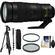 Nikon 200-500mm f/5.6E VR AF-S ED Nikkor Zoom Lens with Pistol Grip Tripod + Monopod + Filters + Kit