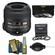 Nikon 40mm f/2.8 G DX AF-S Micro-Nikkor Lens with 7 UV/CPL/ND8 & Close-up Filters + Nikon Cleaning Kit