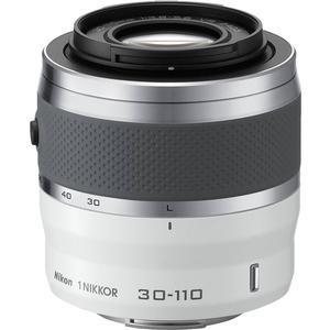 Nikon 1 30-110mm f-3.8-5.6 VR Nikkor Lens-White -