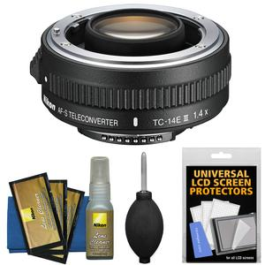 Nikon TC-14E III 1.4x AF-S Teleconverter with Cleaning Kit