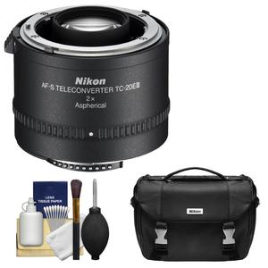 Nikon TC-20E III 2x AF-S Teleconverter with Case and Cleaning Kit