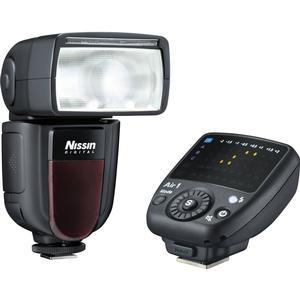 Nissin Digital Di700A Wireless Zoom Flash with Air 1 Commander Set - for Canon EOS E-TTL -