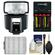 Nissin Digital i40 Speedlite Flash (for Sony Alpha) with Batteries & Charger + Kit