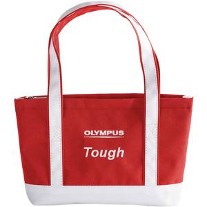 Take Offer Olympus Mini Beach Bag Tough Digital Camera Case / Tote Bag (Red/White) Before Too Late