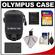 Olympus Casual Style Canvas PEN Digital Camera Case (Black) with 16GB Card + Battery + Accessory Kit
