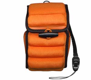 Olympus Digital Camera Floating Case (Orange/Black Trim)
