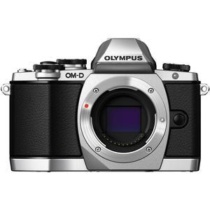 Olympus OM-D E-M10 Micro 4/3 Digital Camera Body (Silver)