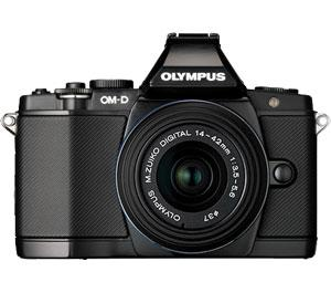 Olympus OM-D E-M5 Micro 4/3 Digital Camera & 14-42mm II Lens (Black/Black) - Refurbished includes Full 1 Year Warranty