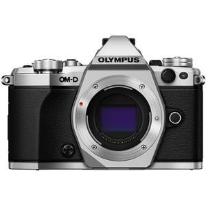 Olympus OM-D E-M5 Mark II Micro 4-3 Digital Camera Body-Silver -