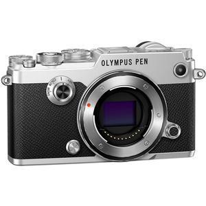 Olympus PEN-F Micro 4-3 Digital Camera Body-Silver -