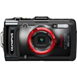 Olympus Tough TG-2 iHS Shock & Waterproof Digital Camera (Black)