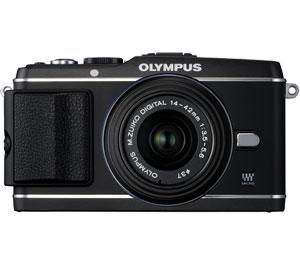 Olympus PEN E-P3 Micro 4/3 Digital Camera & 14-42mm II Lens (Black) - Refurbished includes Full 1 Year Warranty
