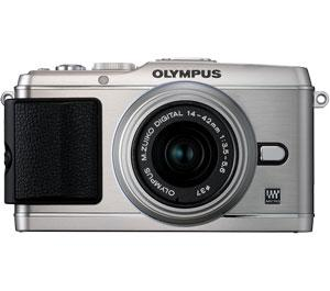 Olympus PEN E-P3 Micro 4/3 Digital Camera & 14-42mm II Lens (Silver) - Refurbished includes Full 1 Year Warranty