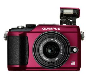 Olympus PEN E-PL2 Micro 4/3 Digital Camera & 14-42mm II Lens (Red) - Refurbished includes Full 1 Year Warranty