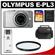 Olympus PEN E-PL3 Micro 4/3 Digital Camera & 14-42mm II Lens (Silver) - Factory Demo with 16GB Card + Case + Filter + Accessory Kit