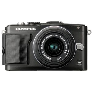 Olympus PEN E-PL5 Digital Camera Body + 14-42mm II R Lens (Black/Black) at Sears.com