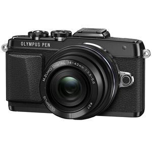 Olympus PEN E-PL7 Micro 4/3 Digital Camera & 14-42mm II R Lens (Black)