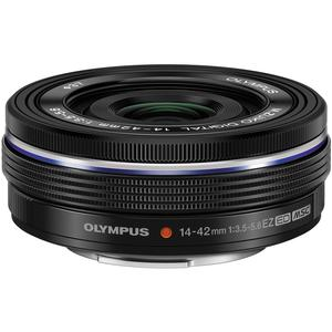 Olympus M.Zuiko 14-42mm f-3.5-5.6 EZ Digital Zoom Lens - Black -