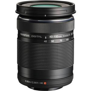 Olympus M.Zuiko 40-150mm f-4.0-5.6 R Micro ED Digital Zoom Lens - Black -