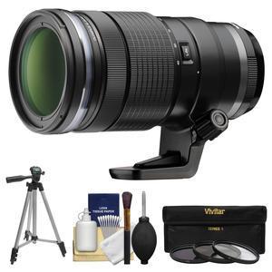 Olympus M.Zuiko 40-150mm f-2.8 Pro Digital Zoom Lens with Tripod + 3 UV-CPL-ND8 Filters + Kit